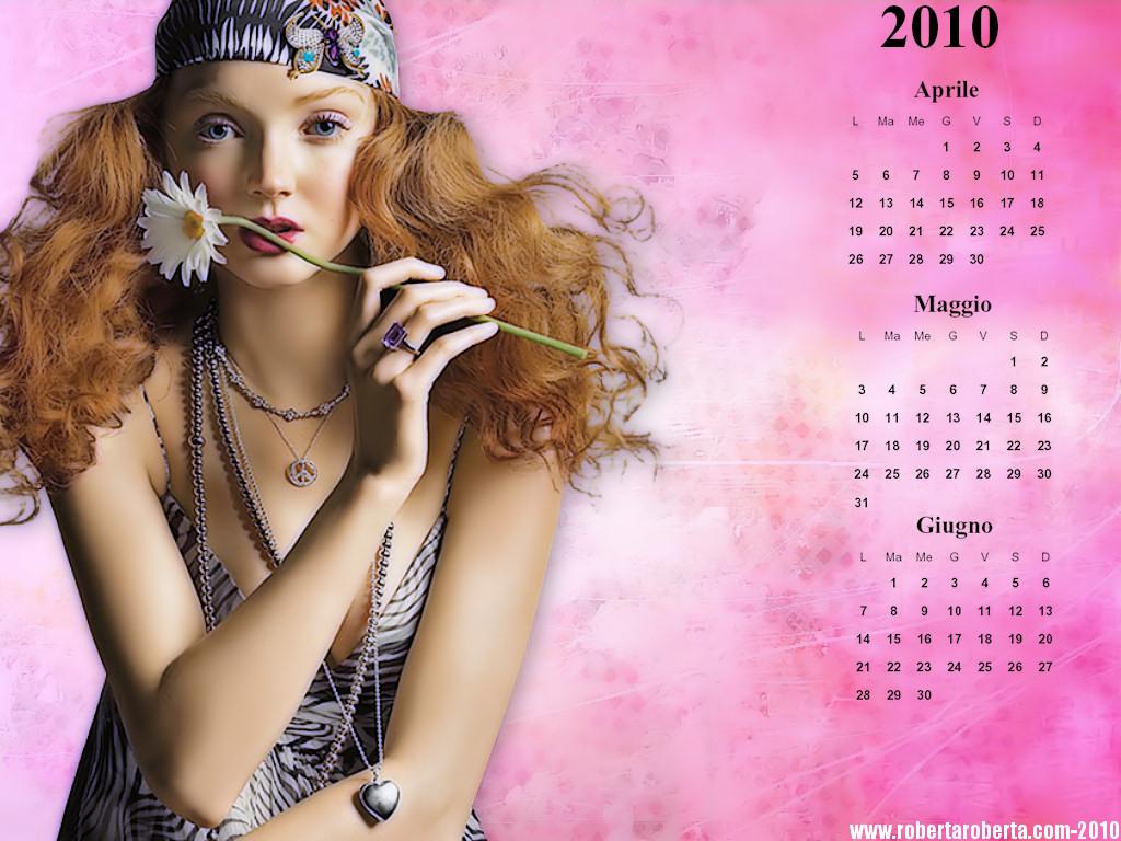 Calendario 2010 DONNE